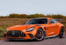 Mercedes-AMG GT R Black Series render