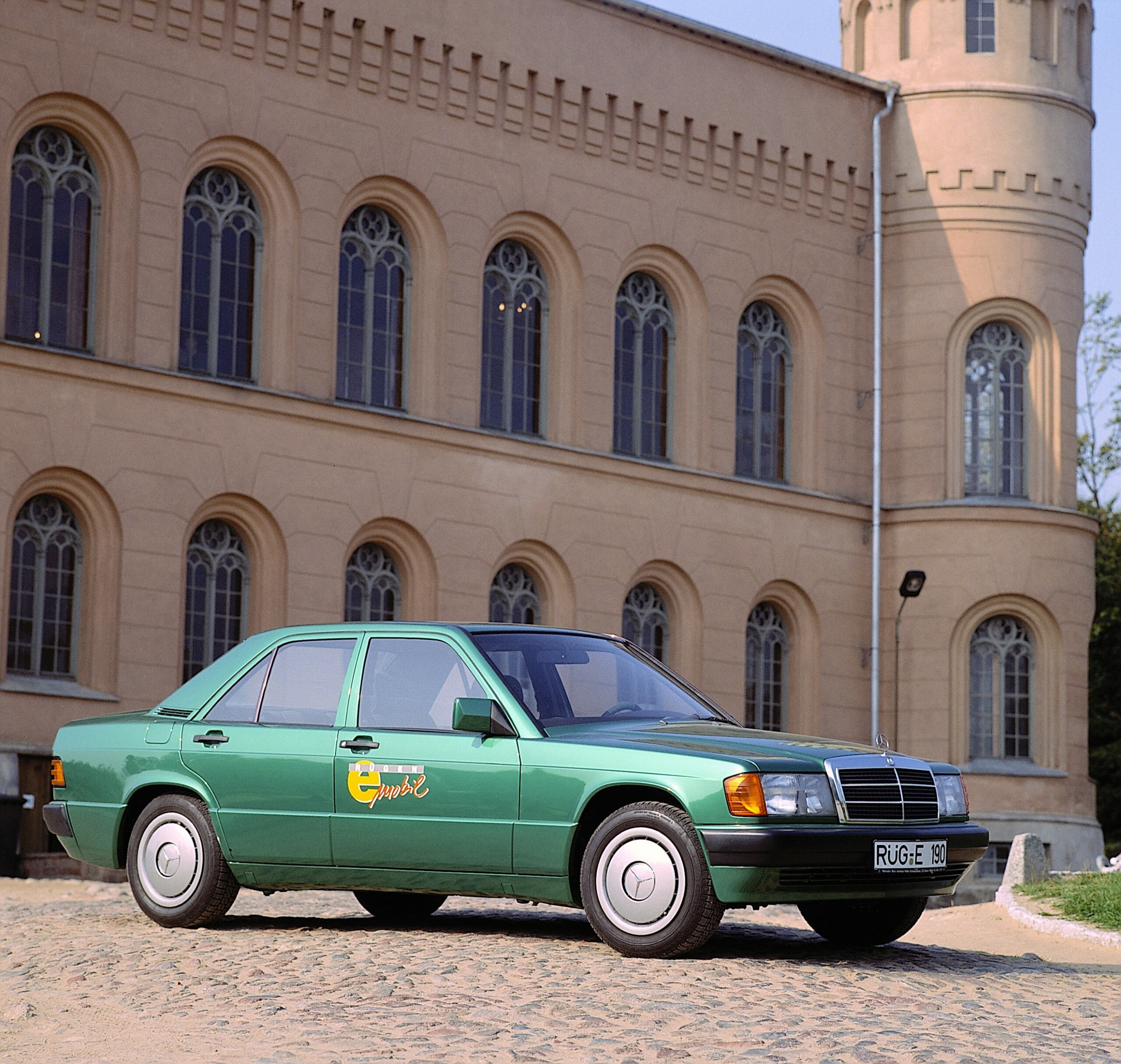 Mercedes-Benz 190 elettrica