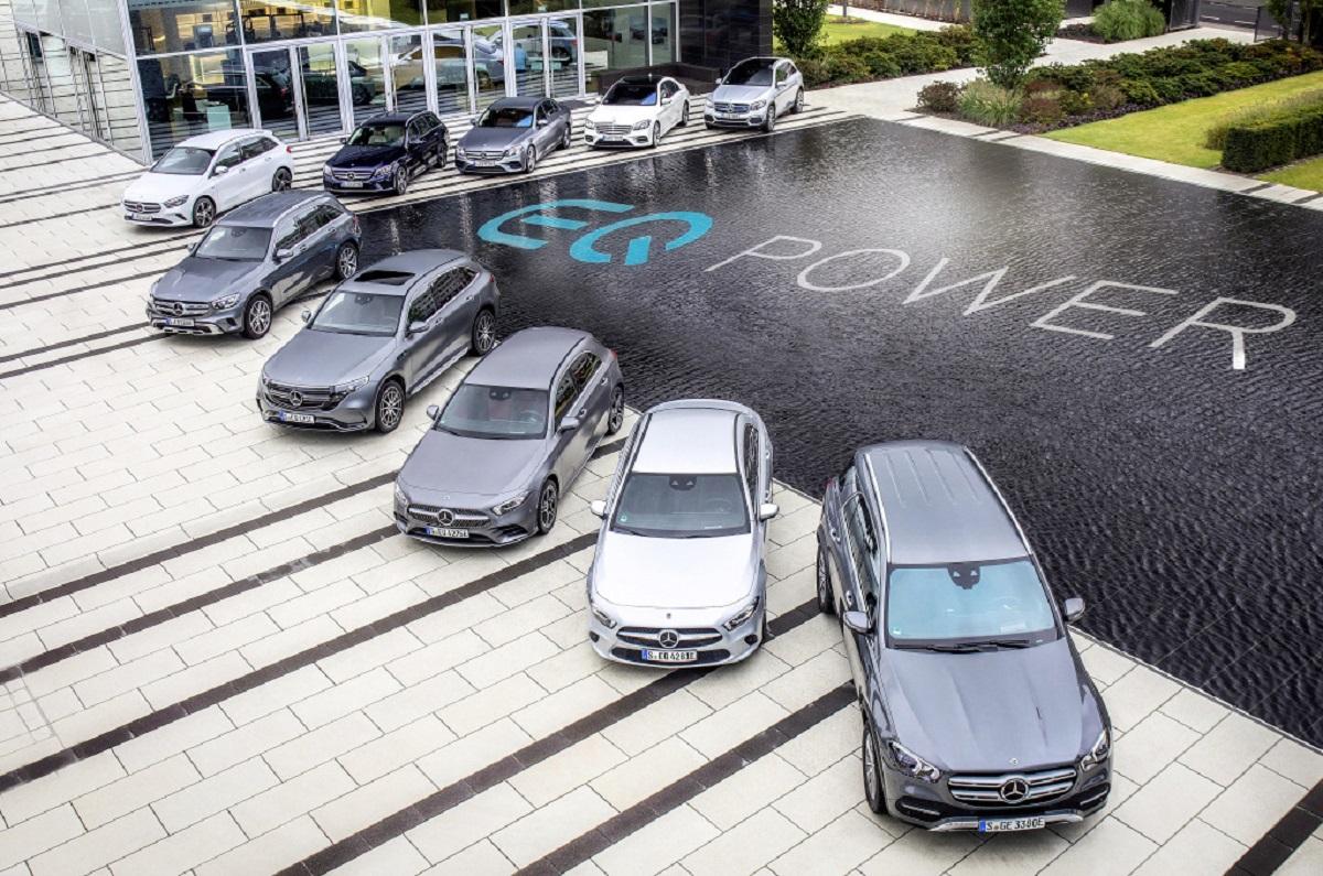 Mercedes-Benz Bank assicurazione veicoli elettrici ed ibridi