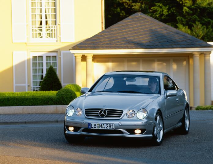 Mercedes-Benz CL 55 AMG F1 Limited Edition