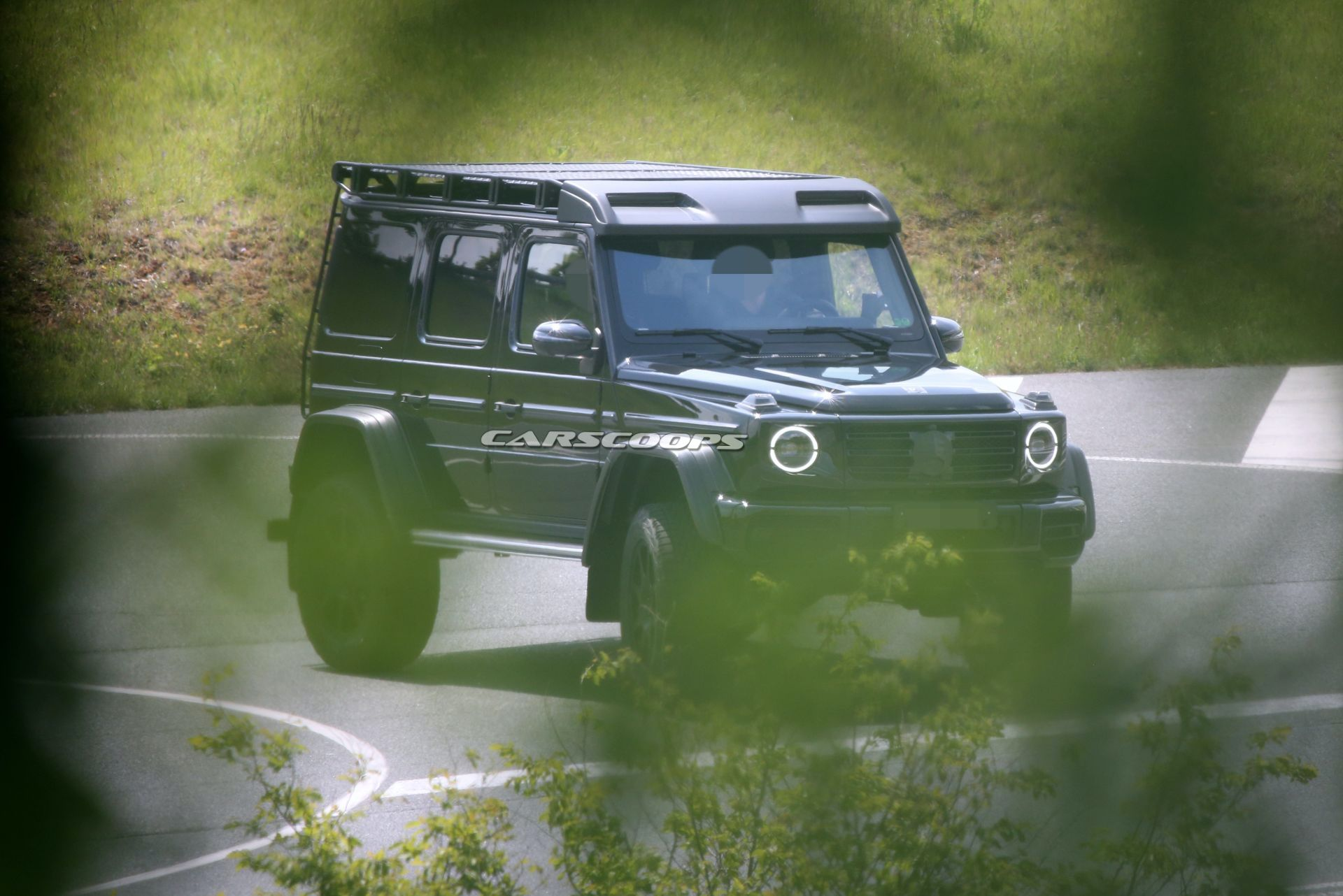 Mercedes-Benz G500 4×4² 2021 foto spia