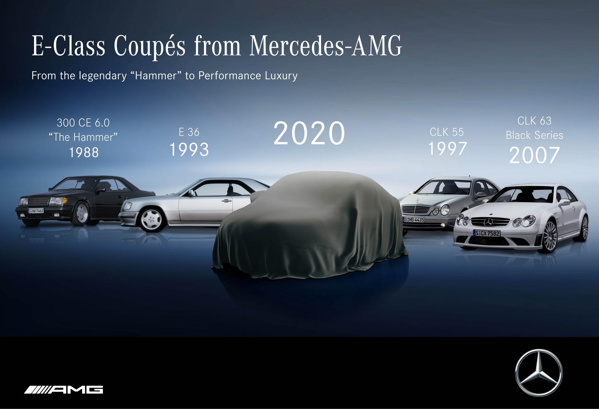 Mercedes Classe E Coupé 2021 teaser