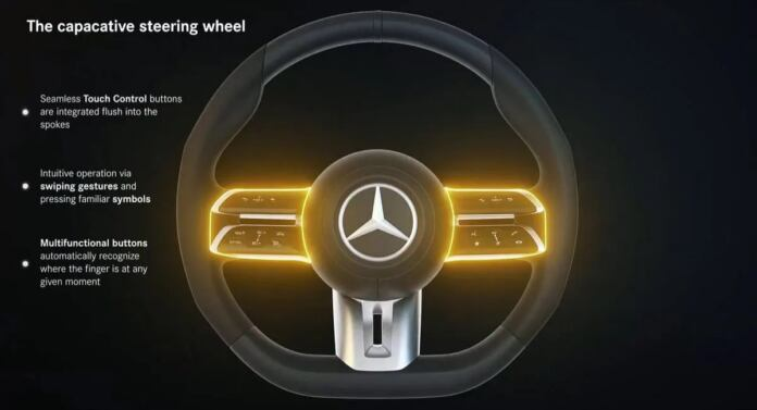 Mercedes Classe E Coupé e Cabrio 2021 nuovo volante