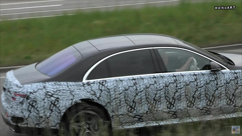 Mercedes Classe S 2021 test Germania