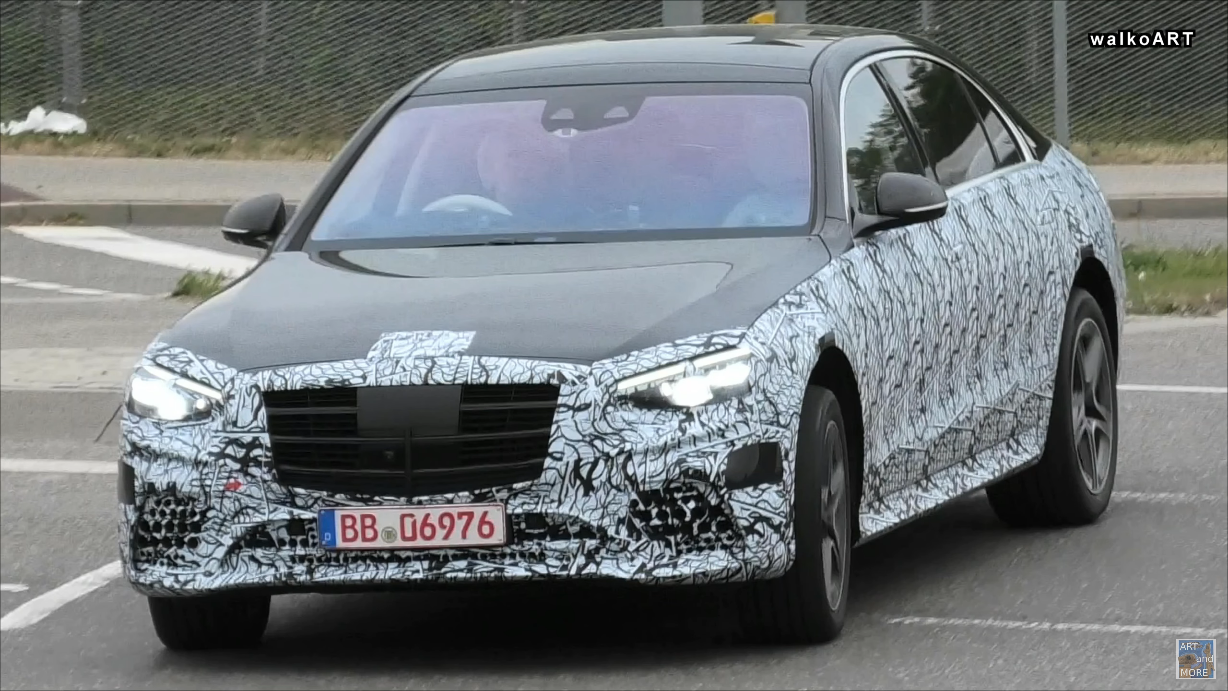 Mercedes Classe S 2021 test Germania