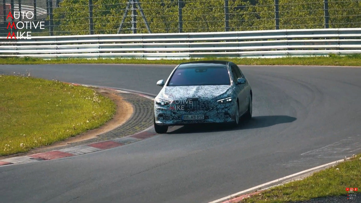 Mercedes-Maybach Classe S 2021 Nurburgring