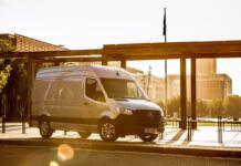 Mercedes Sprinter vendite UK aprile
