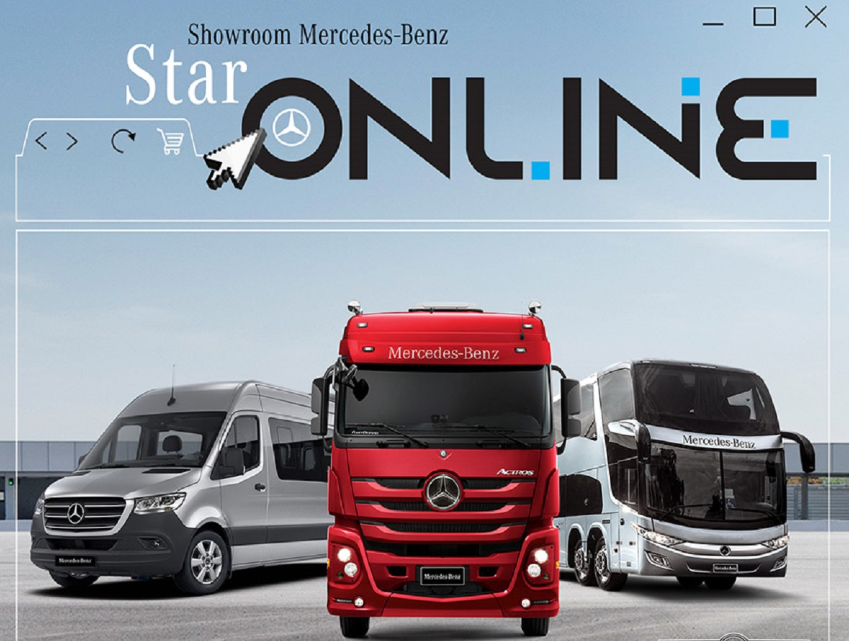 Mercedes showroom virtuale Brasile