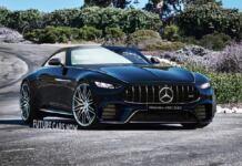 Nuova Mercedes SL render