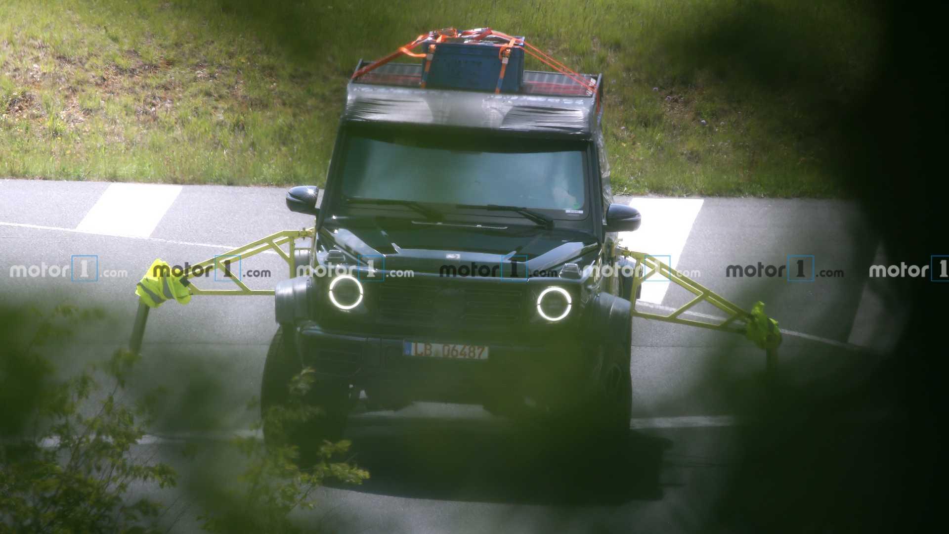 Nuovo Mercedes-Benz G500 4×4² secondo prototipo