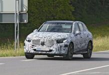 Nuovo Mercedes GLC foto spia