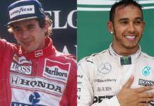 Senna e Hamilton