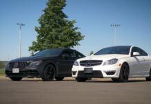Mercedes-AMG C 63 S 2020 vs C 63 AMG 2013