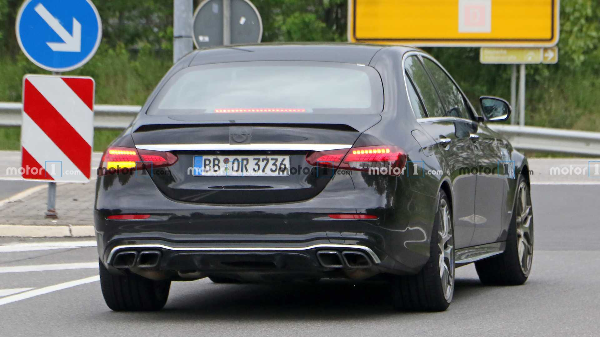 Mercedes-AMG E 63 2021 Nurburgring foto spia