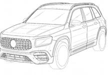 Mercedes-AMG GLB 45 2021 brevetto