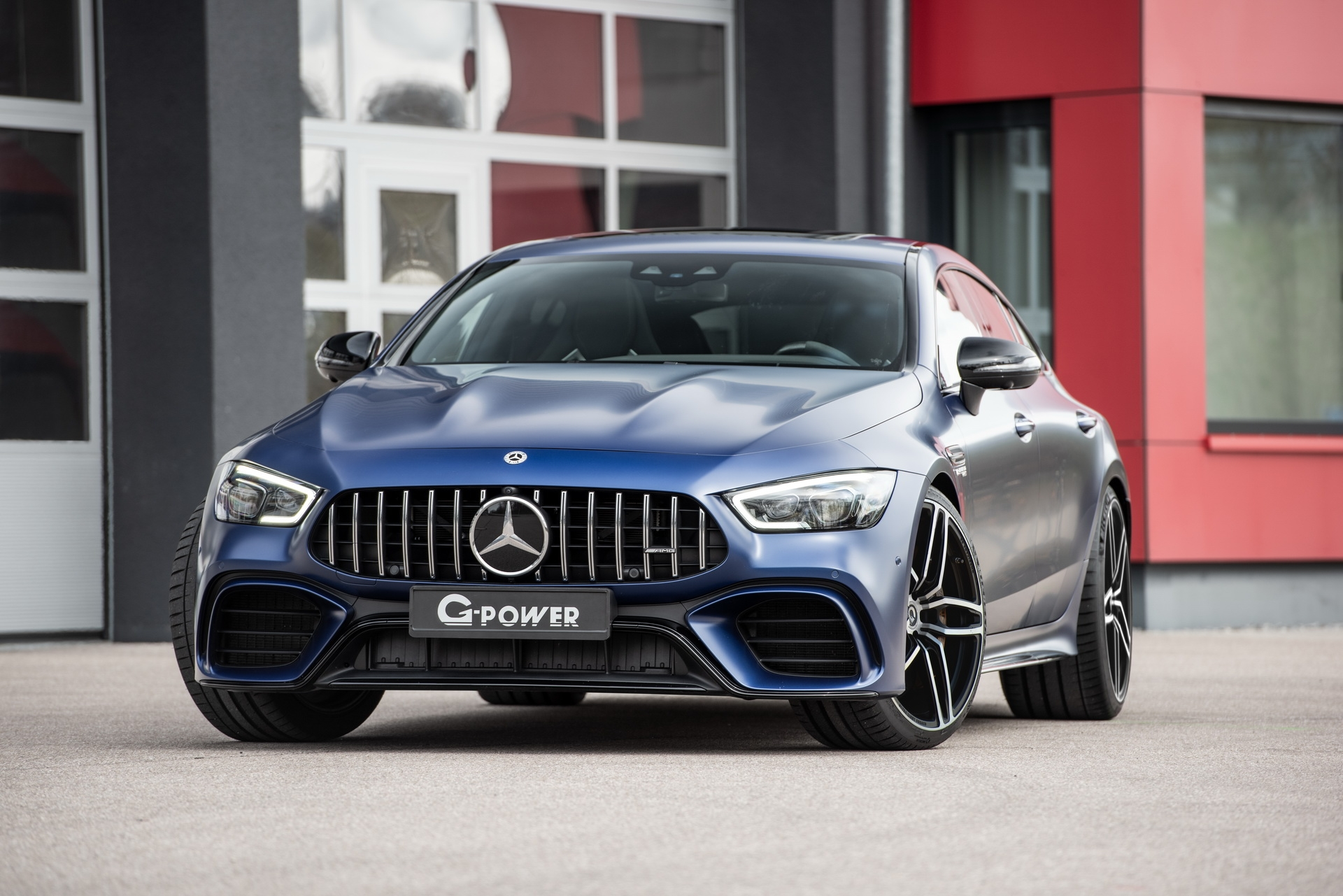Mercedes-AMG GT 63 Coupé 4 G-Power
