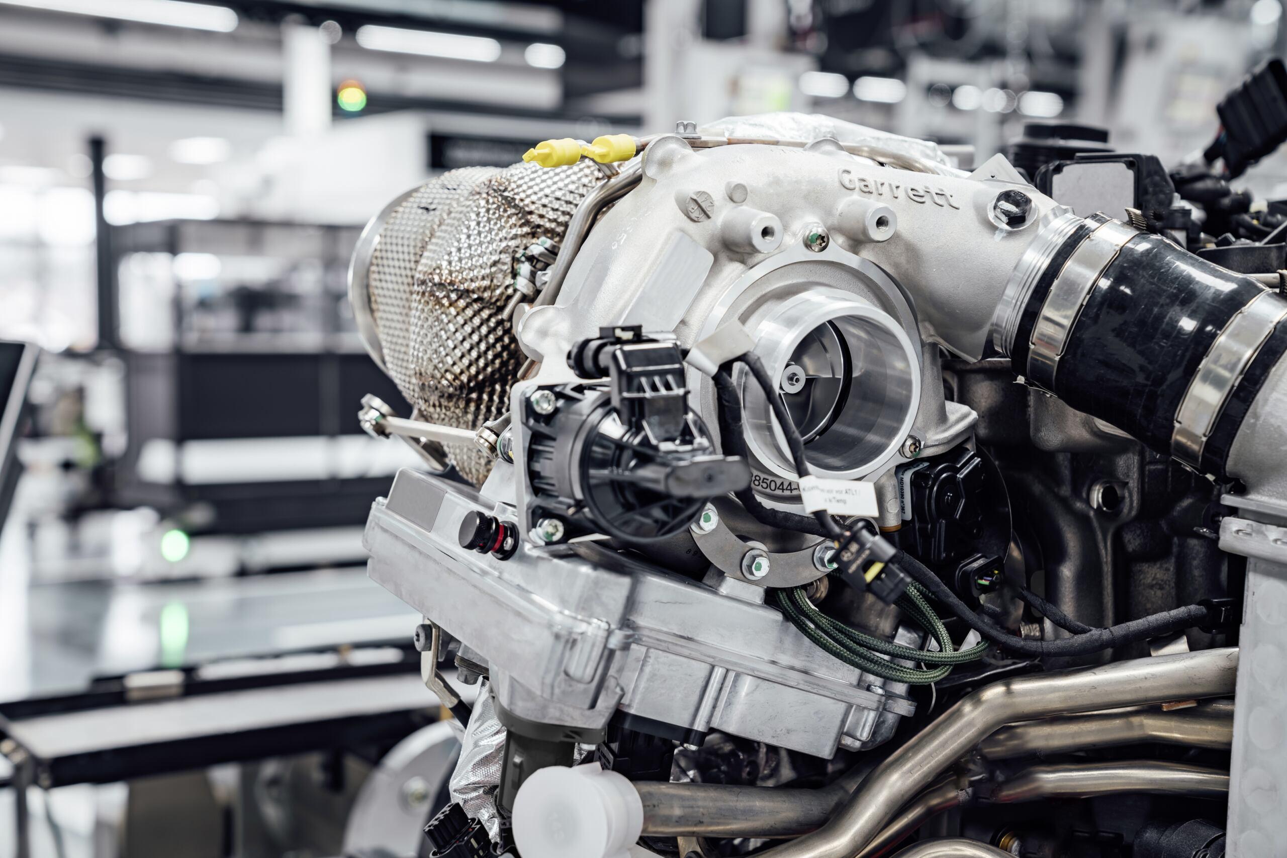 Mercedes-AMG turbo elettrico