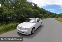 Mercedes-Benz CL600 Brabus 2001