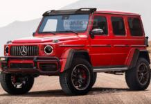 Mercedes-Benz G500 4×4² 2021 render