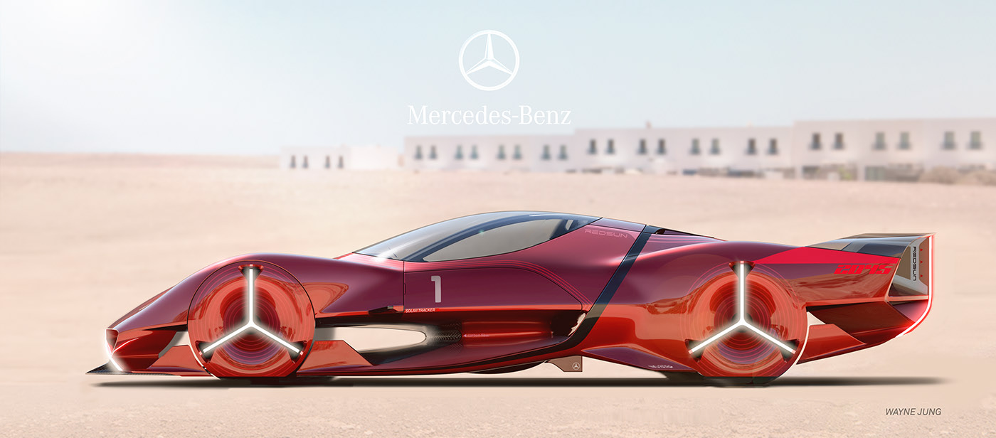 Mercedes-Benz Red Sun concept