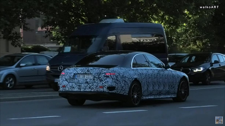 Mercedes Classe S 2021 WalkoART foto spia