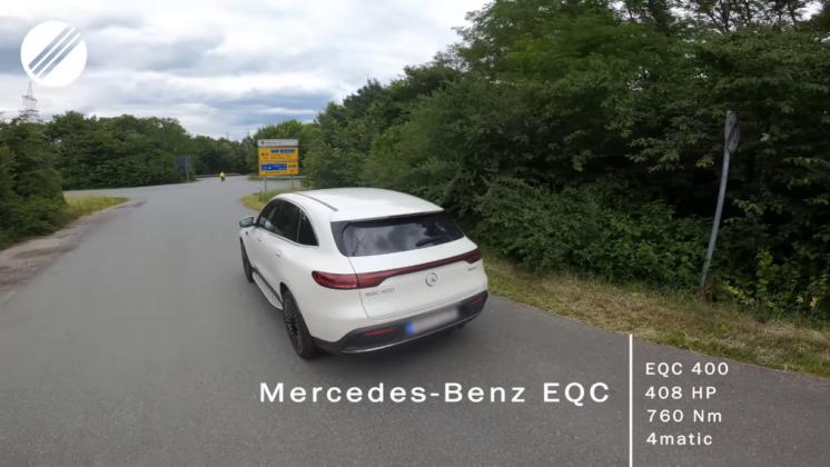 Mercedes EQC TopSpeedGermany