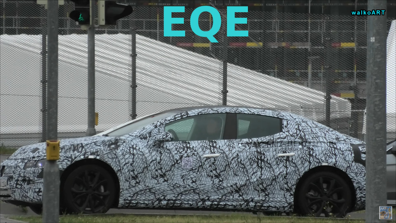 Mercedes EQE e EQS foto spia