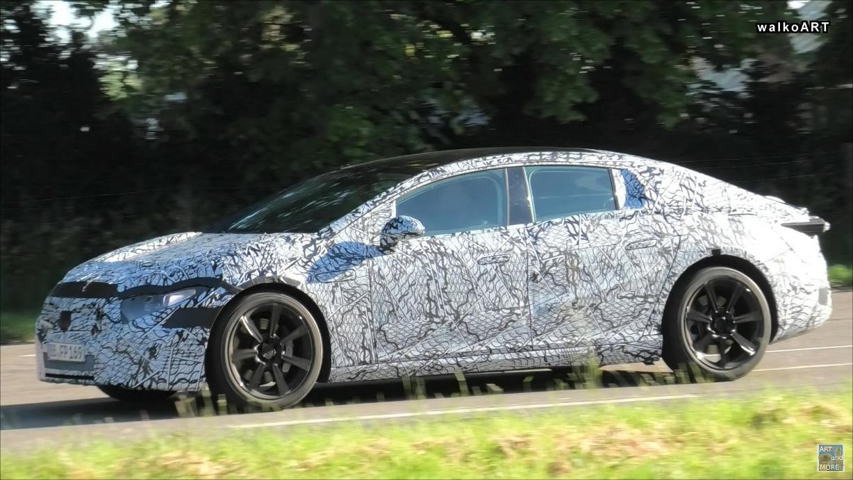 Mercedes EQS prototipo