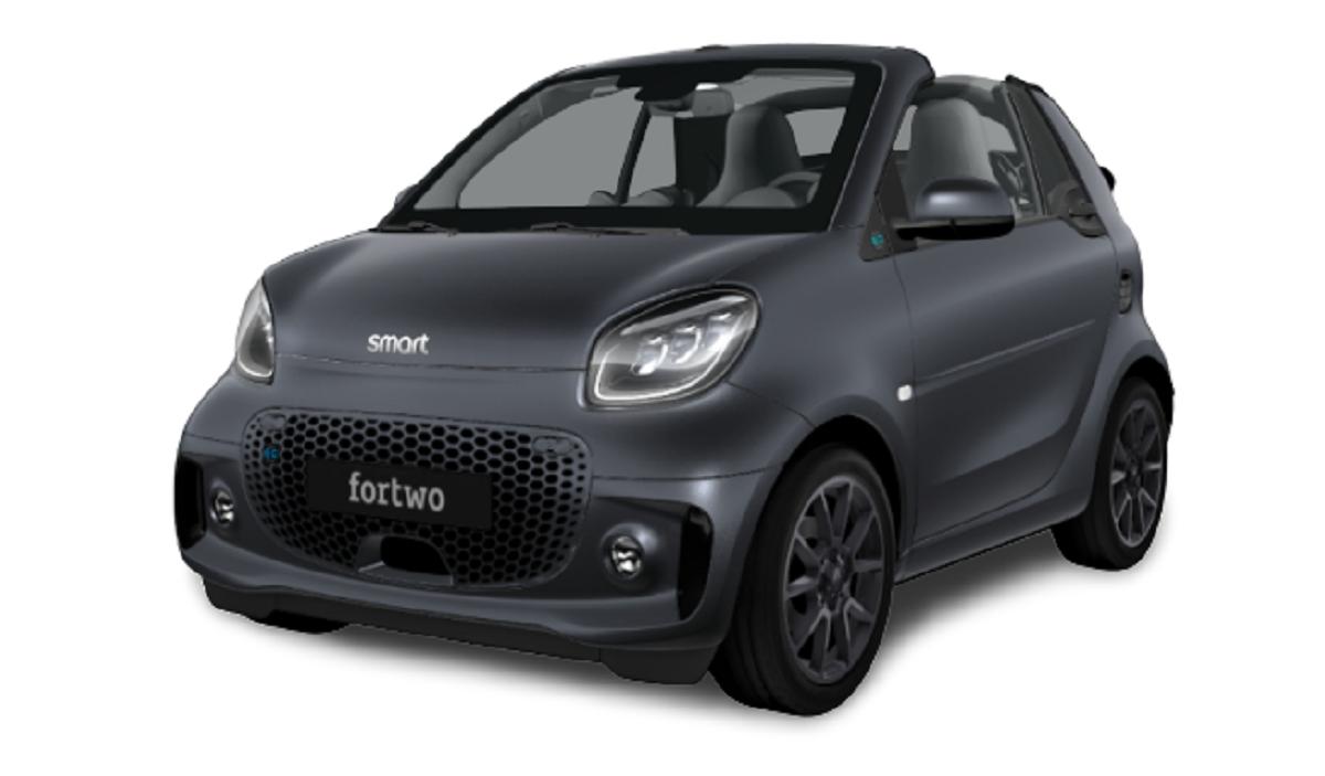 Smart EQ ForTwo Cabrio Suit Grey