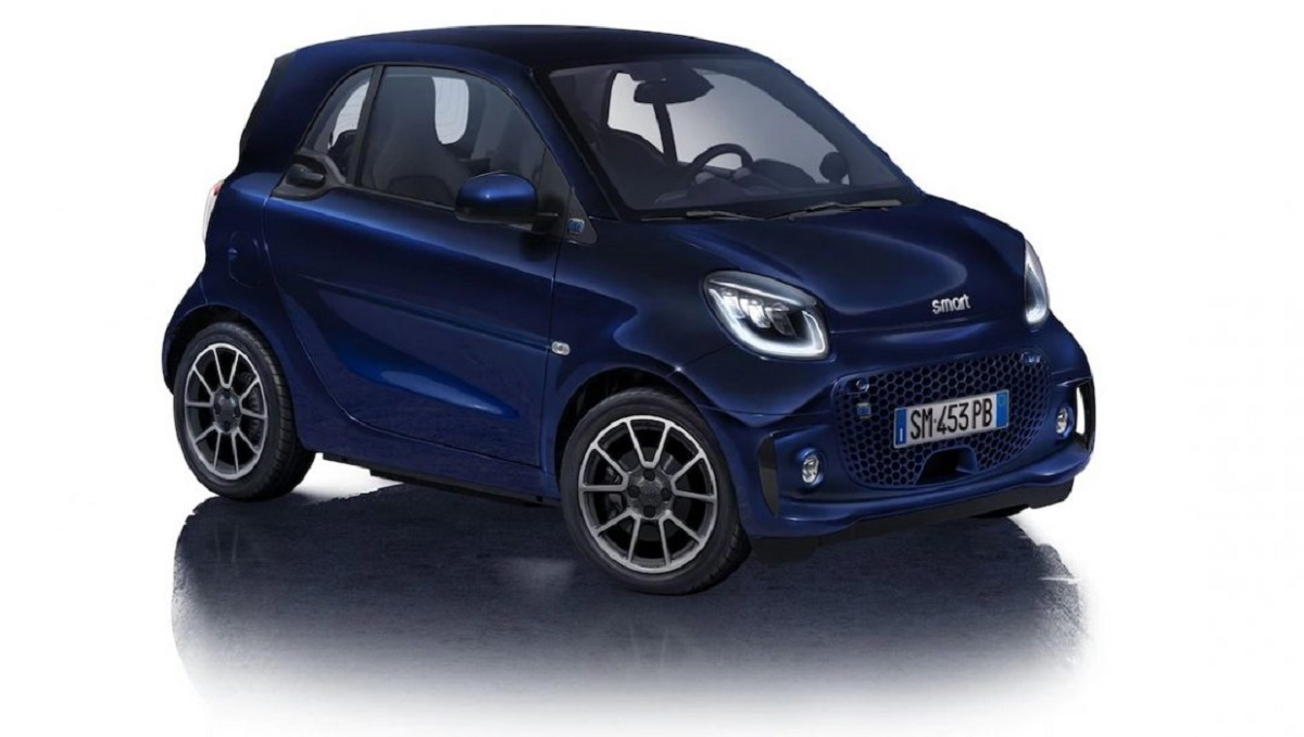 Smart EQ ForTwo Paris Blue