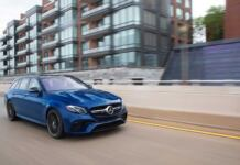 Mercedes-AMG E 63 S Wagon Steel Blue