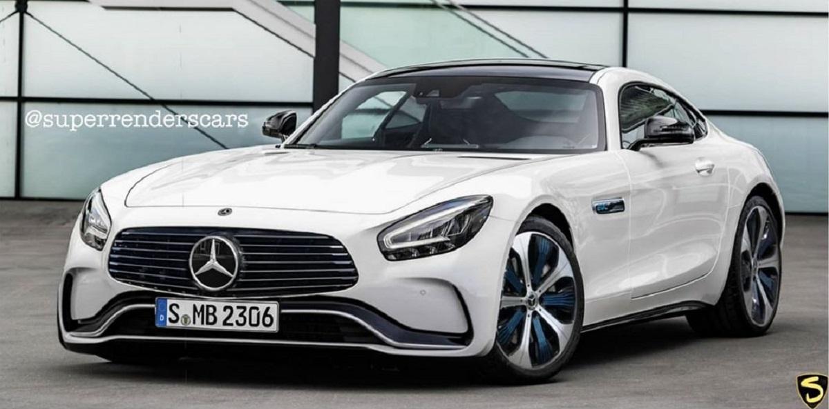 Mercedes-AMG EQ-GT render