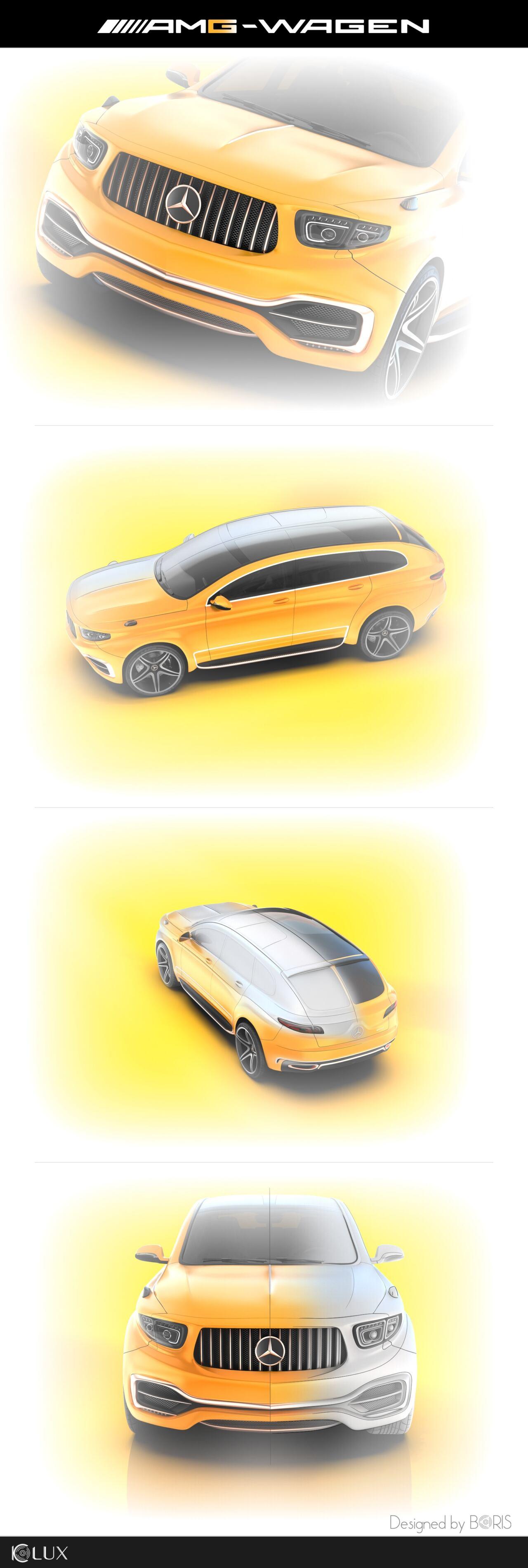 Mercedes-AMG GLS Coupé concept