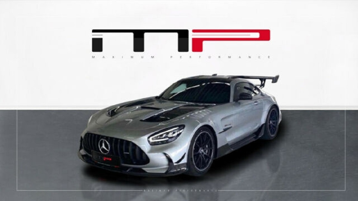 Mercedes-AMG GT Black Series build slot Germania