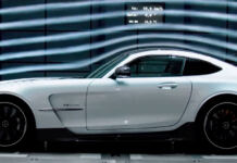 Mercedes-AMG GT Black Series teaser ufficiale