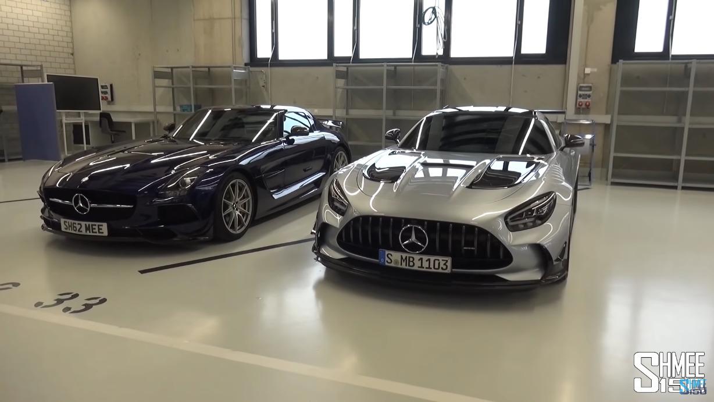 Mercedes-AMG GT Black Series vs SLS AMG Black Series