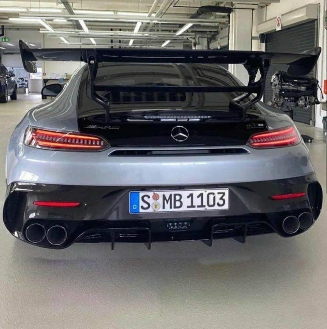 Mercedes-AMG GT R Black Series foto spia senza camuffamenti