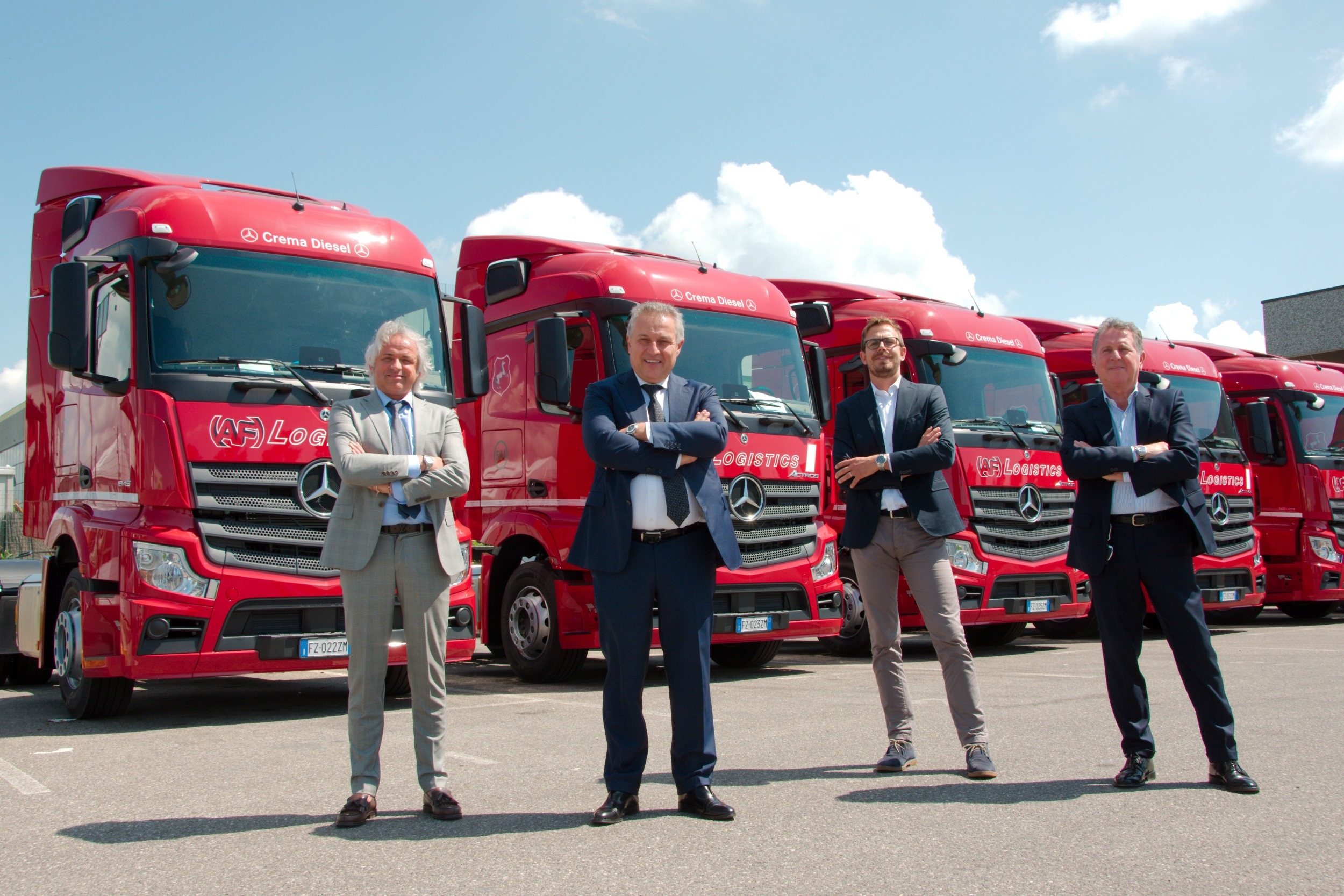 Mercedes Actros AF Logistics