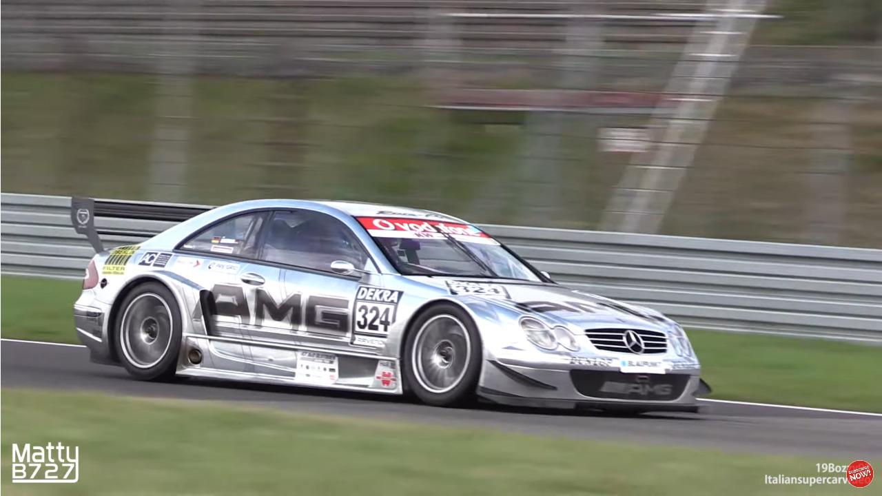 Mercedes-Benz CLK DTM C209 Nurburgring