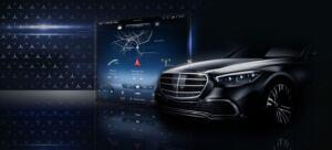 Mercedes Classe S 2021 MBUX teaser