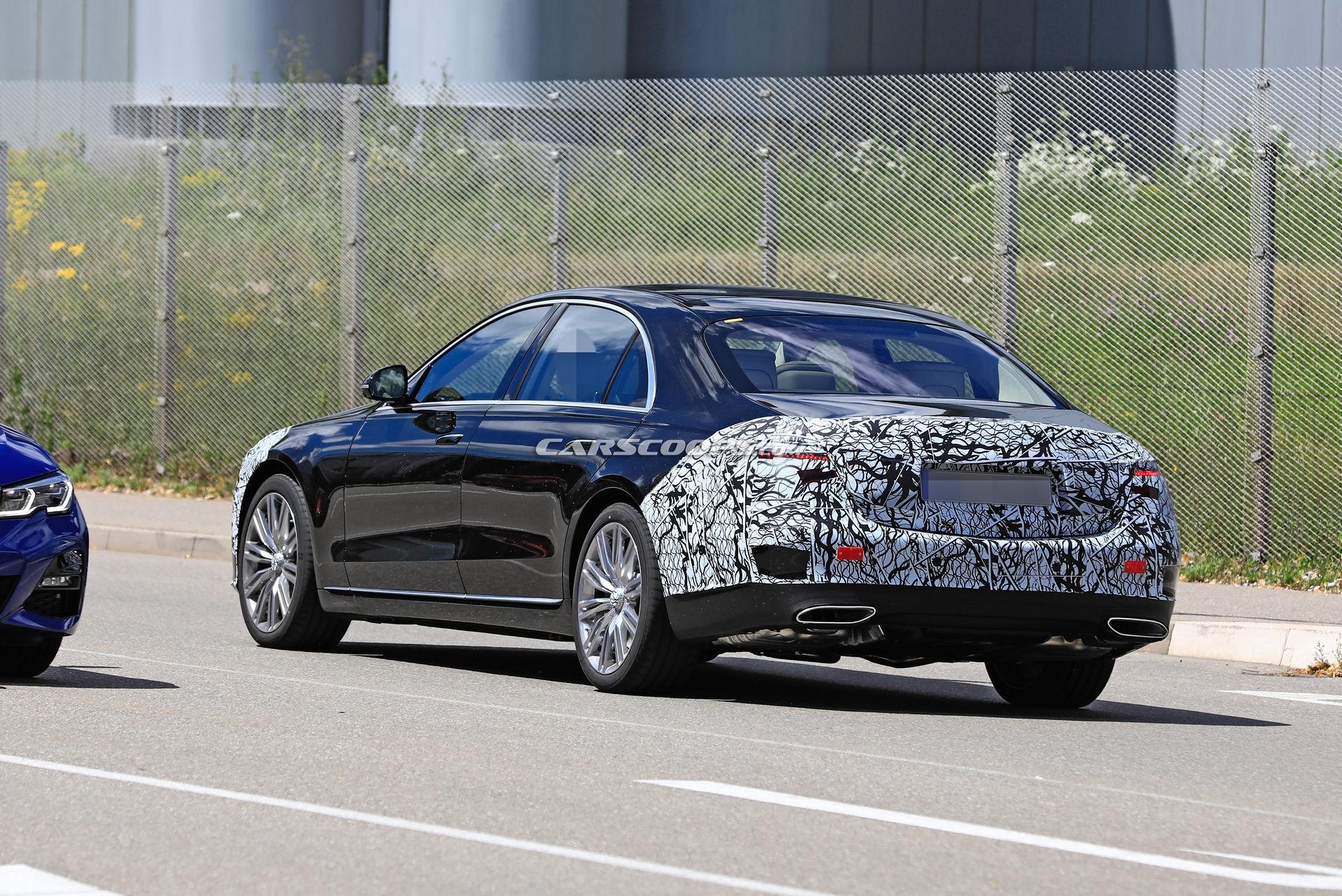Mercedes Classe S 2021 foto spia