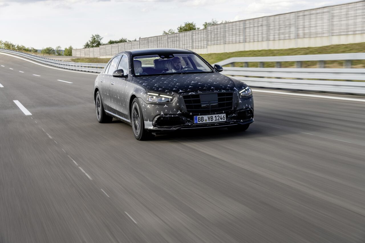 Mercedes Classe S 2021 tecnologie