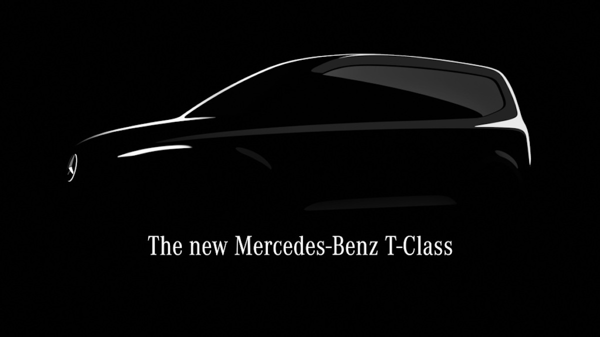 Mercedes Classe T teaser