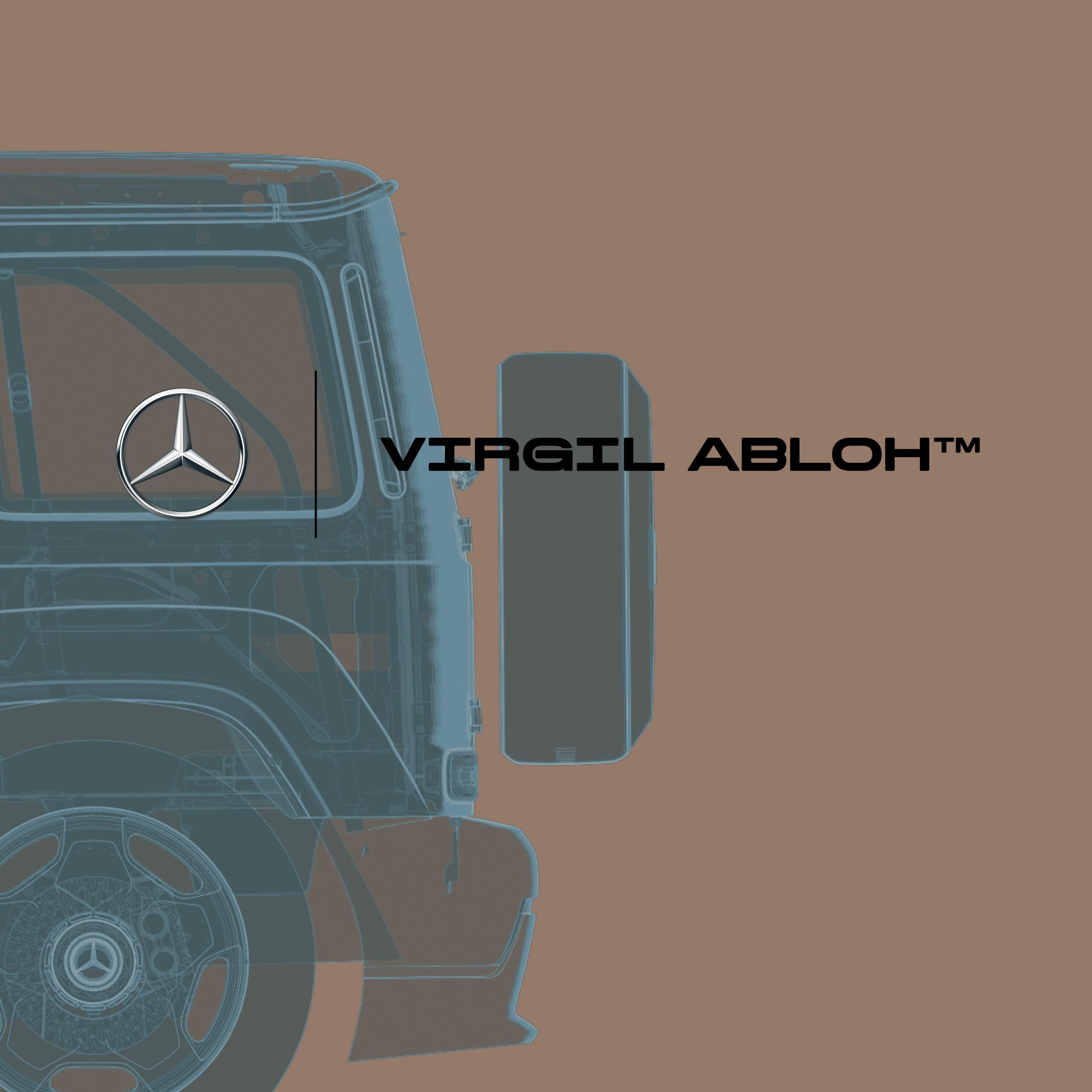 Mercedes Virgil Abloh Classe G