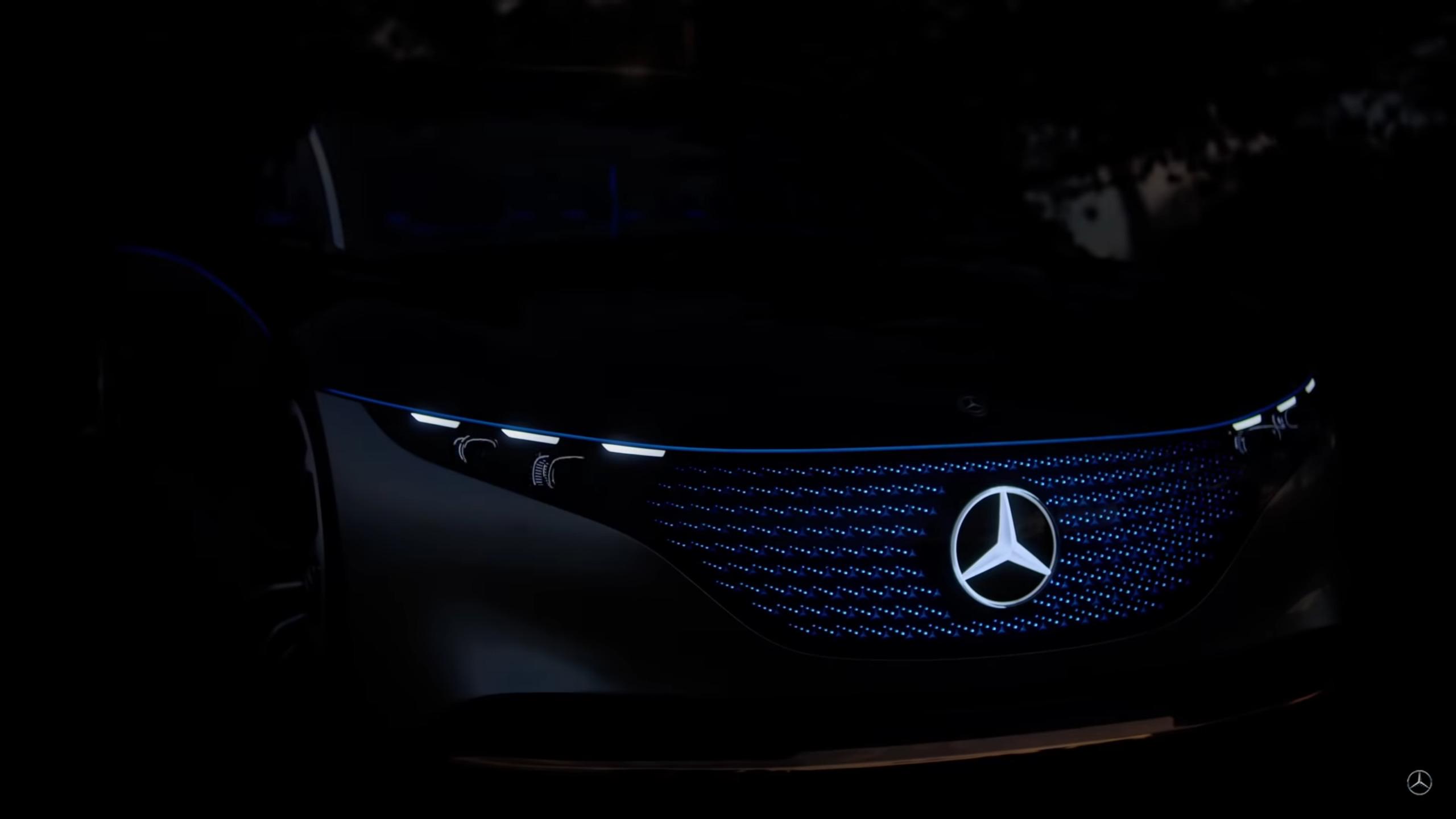 Mercedes Vision EQS Lewis Hamilton