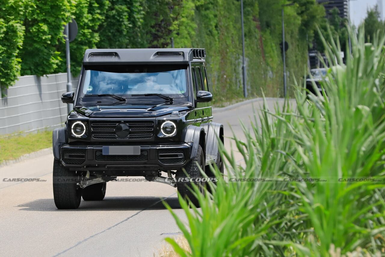 Nuovo Mercedes-Benz G500 4×4² ultime foto spia