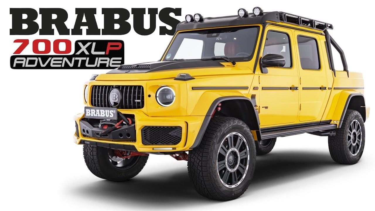 Brabus 700 Adventure XLP Mercedes-AMG G 63 pick-up