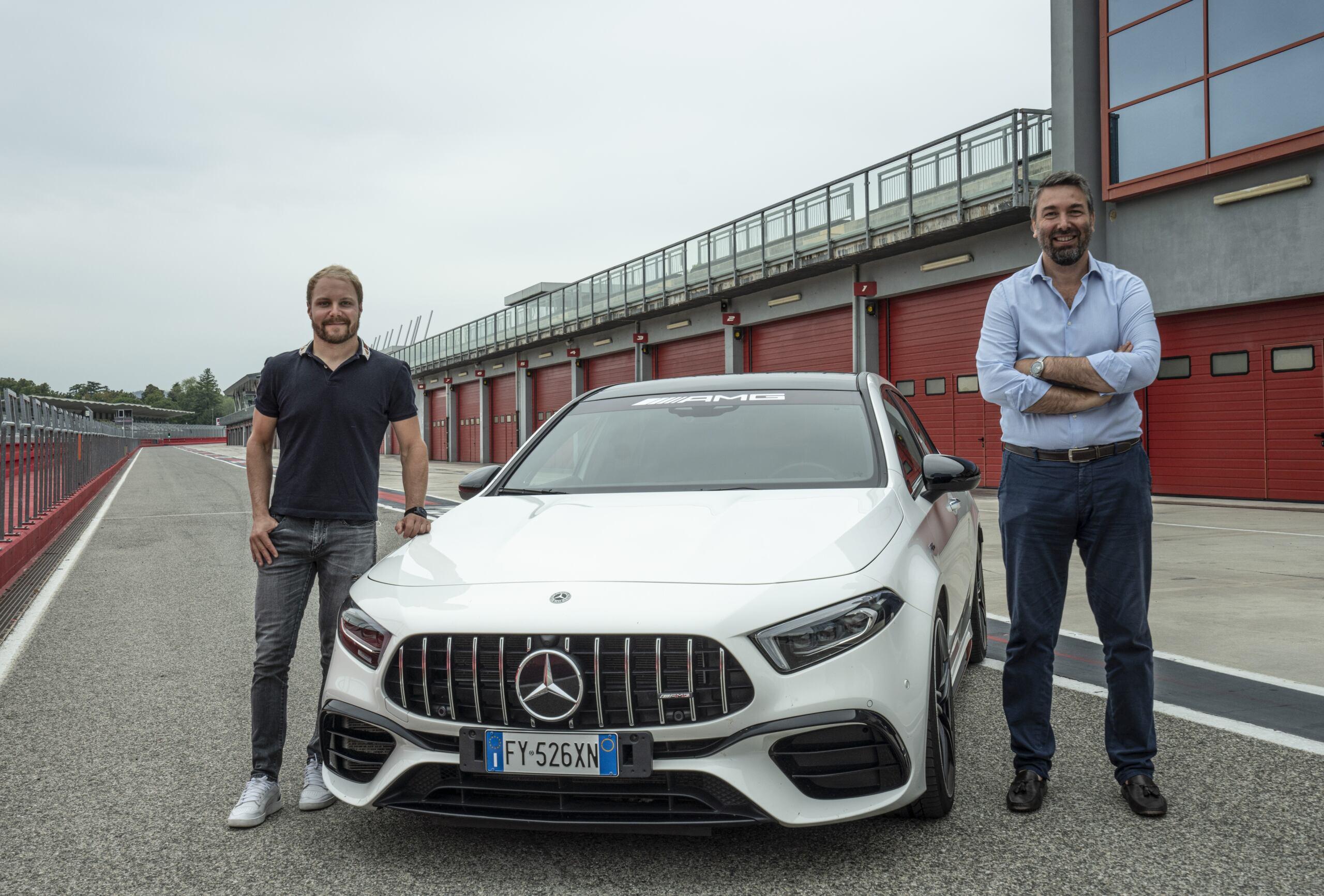 Mercedes-AMG A 45 S Valtteri Bottas Imola