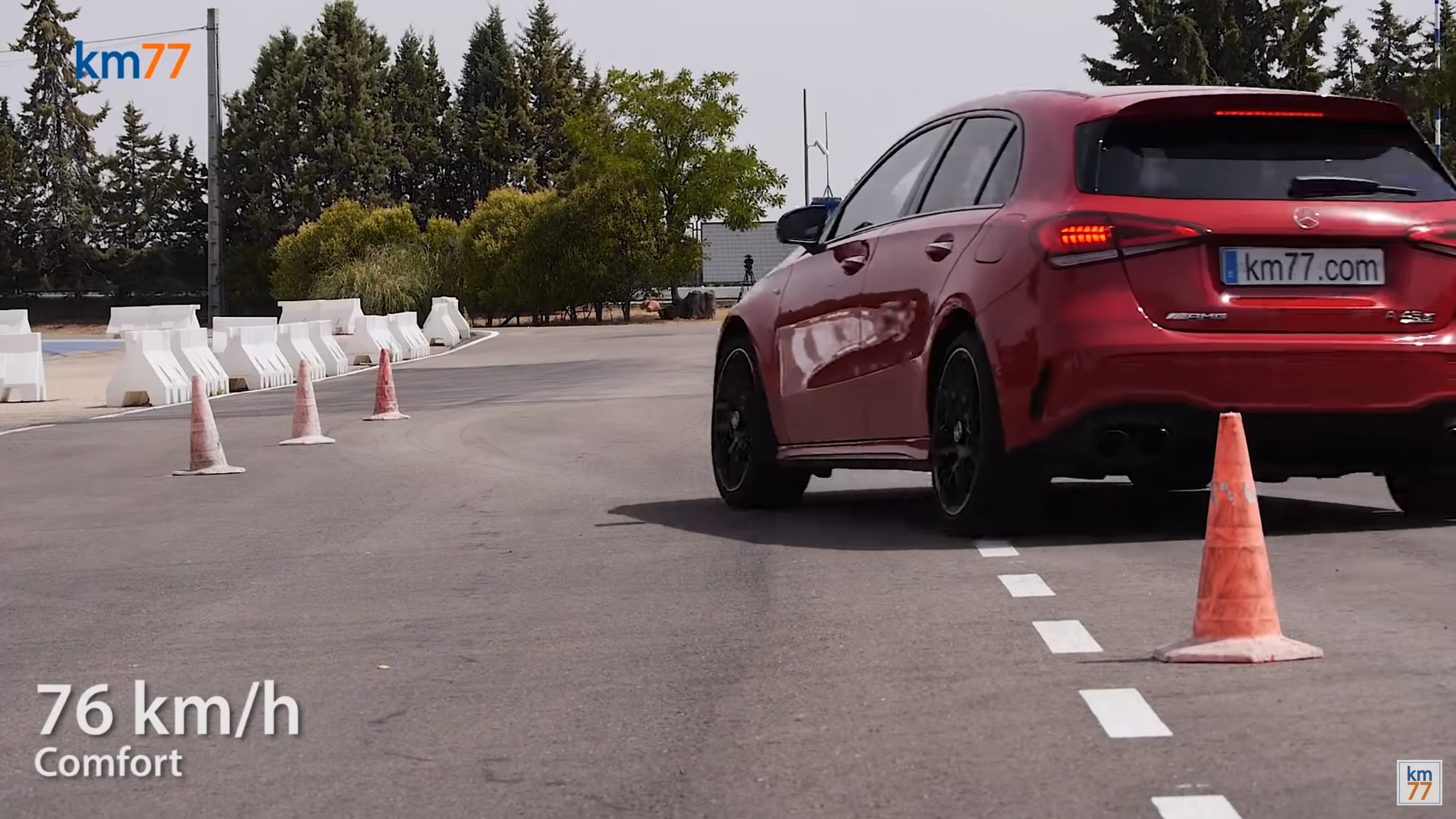 Mercedes-AMG A 45 S test alce