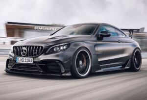 Mercedes-AMG C 63 Coupé Black Series render